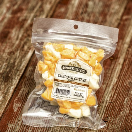 Cheddar Cheese Curds - Mixed
