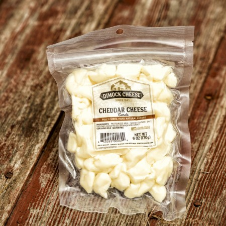 Cheddar Cheese Curds - White