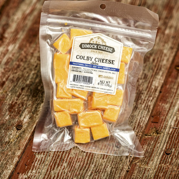 Colby Cheese - Cheese Blocks