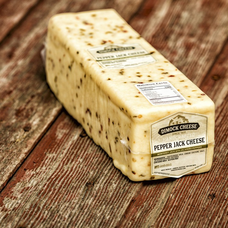 Pepper Jack Cheese - Cheese Blocks